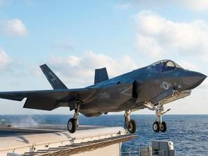 F35 Carrier Launch